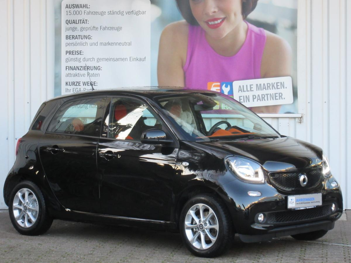 Smart ForFour Cool & Audio PTS SHZ LED Komfortpaket